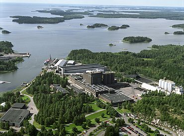 The site in Porkkala, Finland